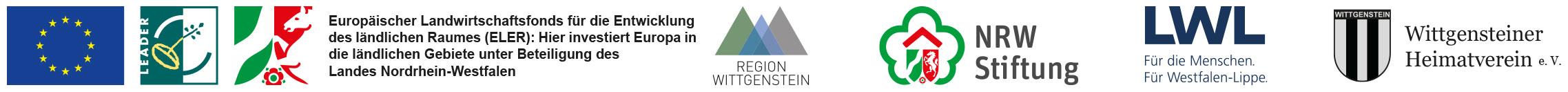 Europäischer Landwirtschaftsfonds für die Entwicklung des ländlichen Raumes (ELER): Hier investiert Europa in die ländlichen Gebiete unter Beteiligung des Landes Nordrhein-Westfalen Region Wittgenstein NRW Stiftung LWL Wittgensteiner Heimatverein